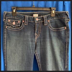 True Religion Bootcut Jeans Size 31'